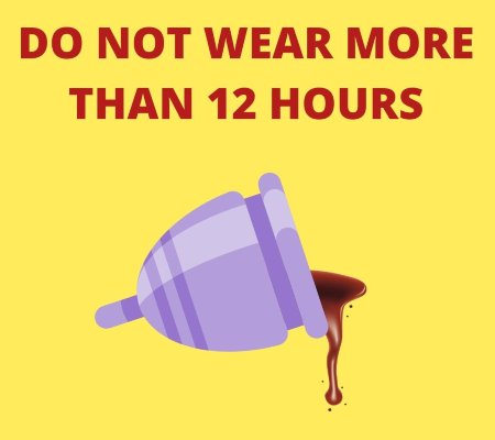 empty menstrual cup regularly to avoid bad smell